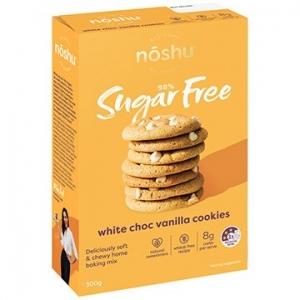 Noshu White Choc Chip Vanilla Cookie Mix 300g