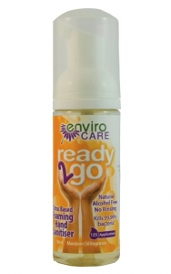 EnviroCare ready2go Hand Sanitiser Foam SCENTED 50ml x 18 Counter Unit