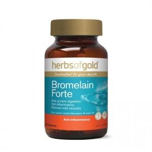 Herbs of Gold Bromelain Forte 60vcaps