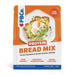 PBCo Protein Bread Mix - Original 330g ORANGE LABEL