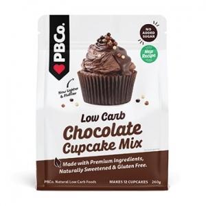 PBCo Simply Low Carb Chocolate Cupcake Mix 220g