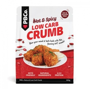 PBCo Low Carb Crumb Hot & Spicy 300g