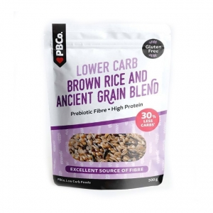 PBCo Lower Carb Brown Rice & Ancient Grain Blend 500g
