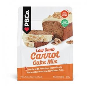 PBCo Low Carb Carrot Cake Mix 350g