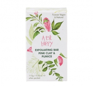 A Bit Hippy Exfoliating Bar PINK CLAY + PUMICE 115g