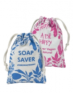 A Bit Hippy Soap Saver Bag BLUE
