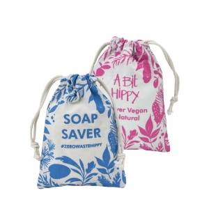 A Bit Hippy Soap Saver Bag PINK