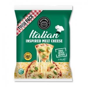 Edwards Crossing Italian Inspired Mozzarella Cheese Twin Pack (180g x 2) x 6