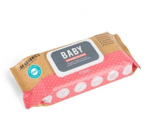 Jak Organics BABY Cleansing Oil 65 Wipes