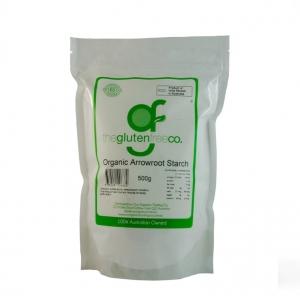 The Gluten Free Co Organic Arrowroot Starch g/f 500g