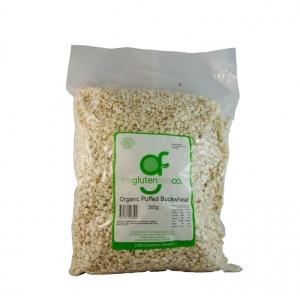 The Gluten Free Co Organic Puffed Buckwheat g/f 200g