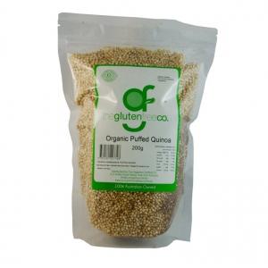 The Gluten Free Co Organic Puffed Quinoa g/f 200g