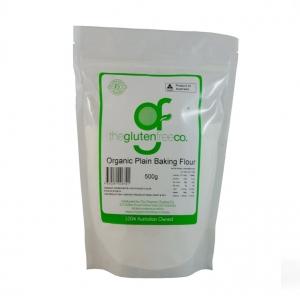 The Gluten Free Co Organic Baking Flour Plain g/f 500g