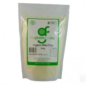 The Gluten Free Co Organic Millet Flour g/f 500g