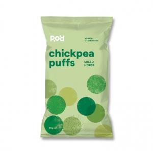 Pangkarra Chickpea Puffs, Mixed Herbs 90g x 8