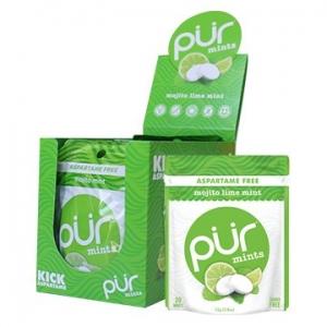 PUR Mints Mojito Lime Mint Display Box 12 x 20 Mints