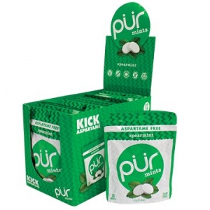 PUR Mints Spearmint Display Box 12 x 20 Mints