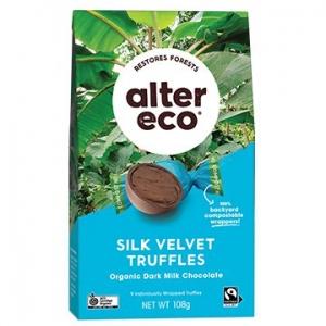 Alter Eco Organic Truffles - VELVET 108g x 5
