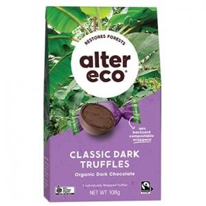 Alter Eco Organic Truffles - BLACK TRUFFLE 108g x 5
