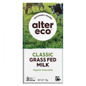 Alter Eco Organic Grass Fed Chocolate MILK 46% 75g x 12