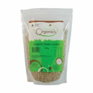 Willowvale Organic Lentils Green g/f 500g