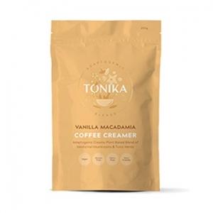 Tonika Coffee Creamer Vanilla Macadamia 200g