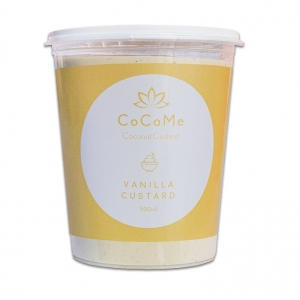 CoCoMe Coconut Custard Vanilla 500ml