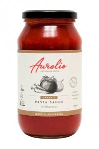 Aurelio Organic Pasta Sauce PRIMAVERA 500g