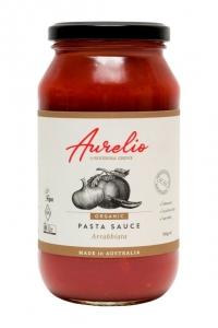 Aurelio Organic Pasta Sauce ARRABBIATTA 500g