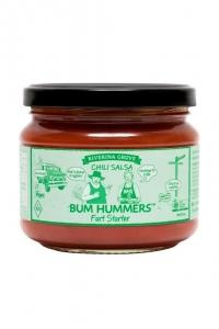 Bum Hummers Organic Salsa CHILLI 300g
