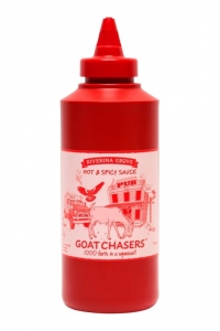 Bum Hummers Goat Chaser Spicy BBQ Sauce 500ml