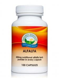 Natures Sunshine Alfalfa 450mg 100caps