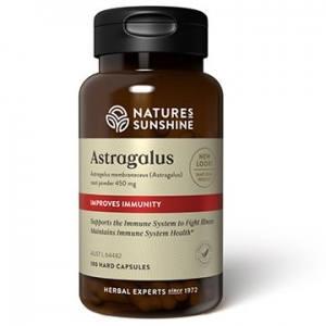 Natures Sunshine Astragalus 450mg 100caps