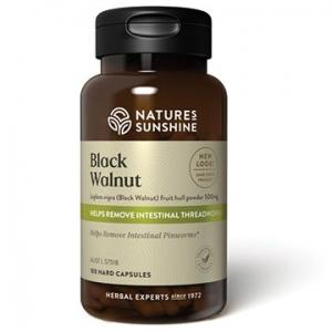 Natures Sunshine Black Walnut 500mg 100caps