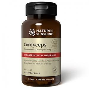 Natures Sunshine Cordyceps 530mg 90caps