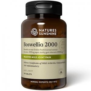 Natures Sunshine Boswellia 2000 90tabs