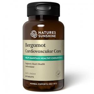 Natures Sunshine Bergamot Cardiovascular Care 60tabs