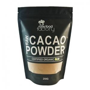 Raw Food Factory Organic Cacao Powder 250g