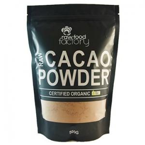 Raw Food Factory Organic Cacao Powder 500g