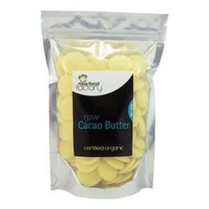 Raw Food Factory Organic Cacao Butter 400g