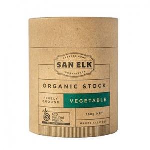 San Elk Organic Vegetable Stock 160g