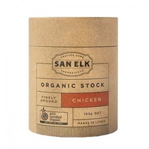 San Elk Organic Chicken Stock 160g