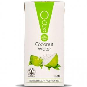 Ceres Oqua Organic Coconut Water Tetra 1 Ltr x 12