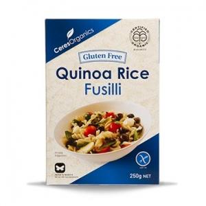 Ceres Organic Pasta FUSILLI Quinoa Gluten Free 250g