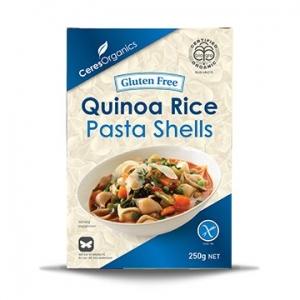 Ceres Organic Pasta SHELLS Quinoa Gluten Free 250g