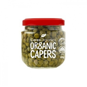 Ceres Organic Capers 100g