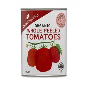 Ceres Organic Tomatoes Whole Peeled 400g