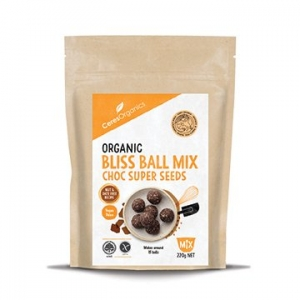 Ceres Organic Bliss Ball Mix CHOC SUPER SEEDS 220g