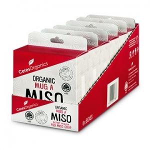 Ceres Organic Mug-A-Miso Soup (4 x 15g) x 6