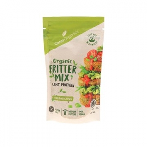 Ceres Organic Fritter Mix HERBALICIOUS 140g